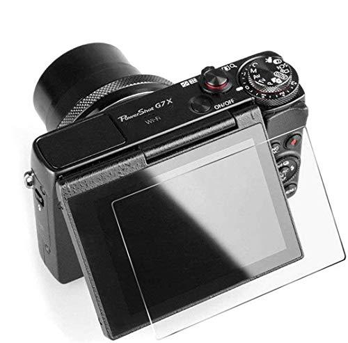Protector de pantalla de cristal templado compatible con Canon PowerShot G7X Mark II – Protector de pantalla LCD para Canon PowerShot G7X Mark II, G9X Mark II, G9X, G7X, G5X, 0,3 mm de grosor