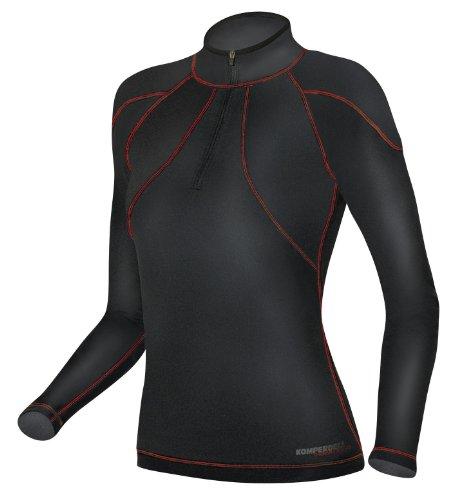 Komperdell First Layer T-Shirt sous-vêtement de Ski L Noir - Noir