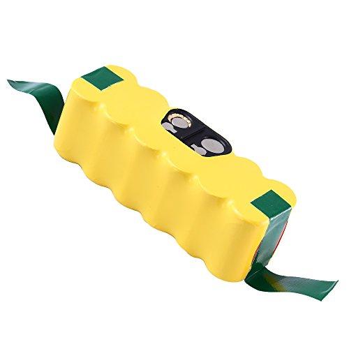 Boetpcr 3000mAh Ni-MH Repuesto para iRobot Batería 14.4v Roomba Aspiradora 500 600 700 800 Serie 500 510 520 530 532 534 535 540 550 552 555 560 562 570 580 581