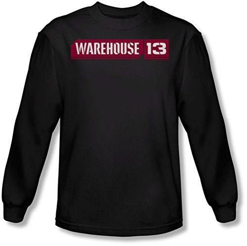Warehouse 13 - Logo Tee shirt manches longues Men In Black, Large, Black