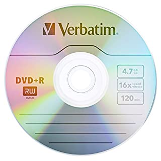 Verbatim DVD+R 4.7GB 16x AZO Recordable Media Disc - 25 Disc Spindle