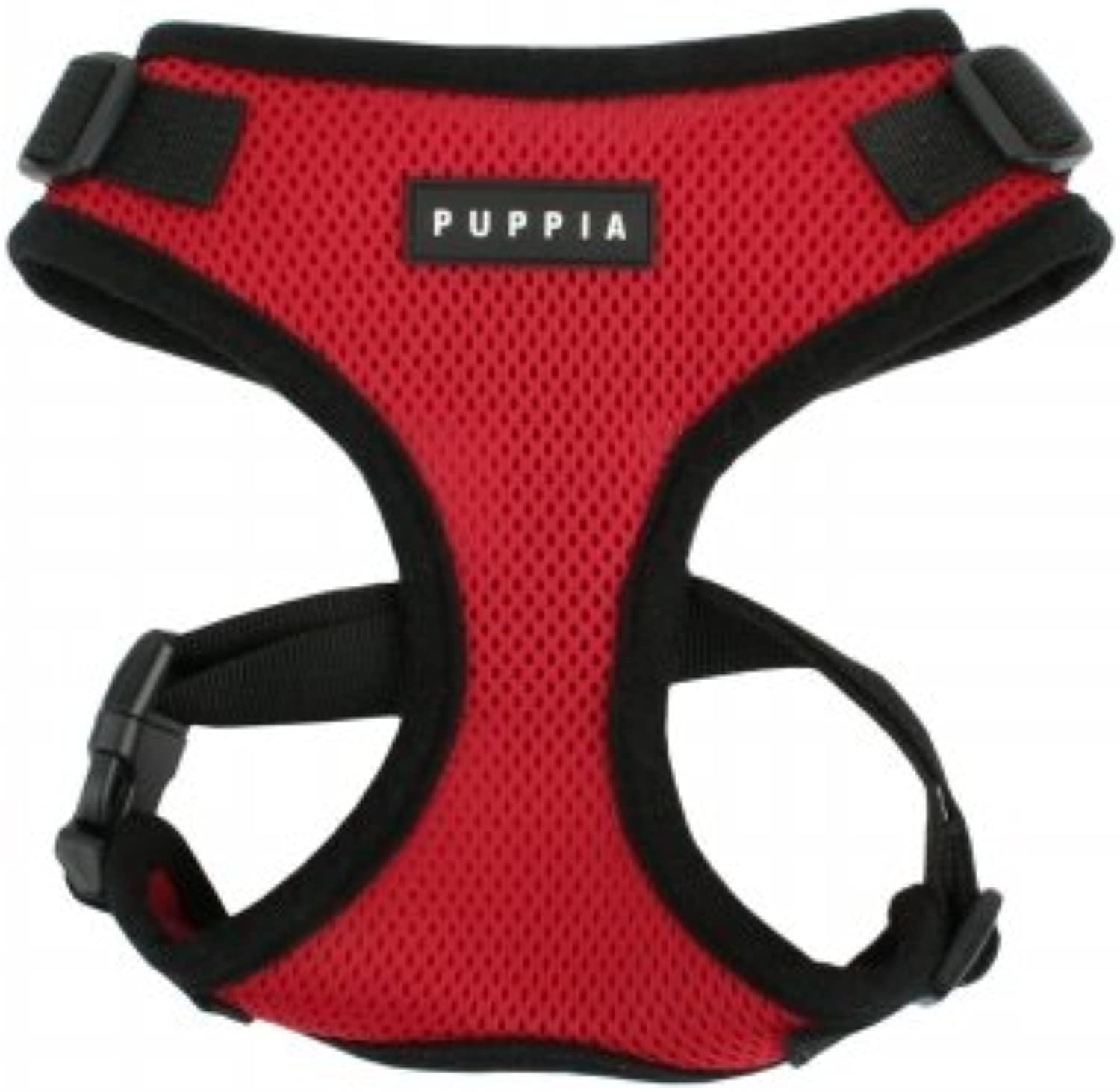Puppia Rite Fit Dog Harness XLarge Red