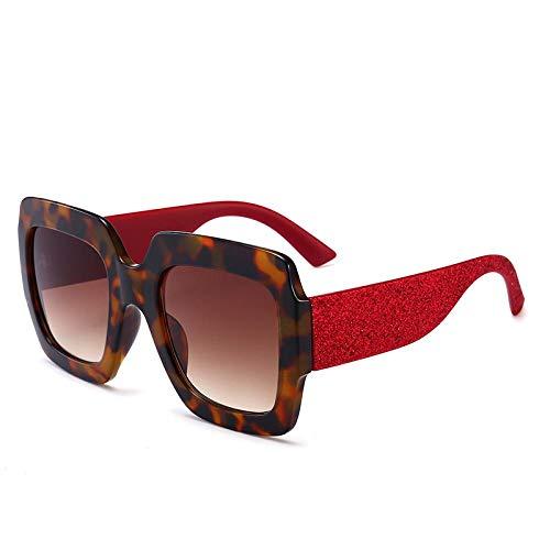 YANPAN Americana, Gafas De Sol con Montura Multicolor, Tendencia De Lujo, Cristal...