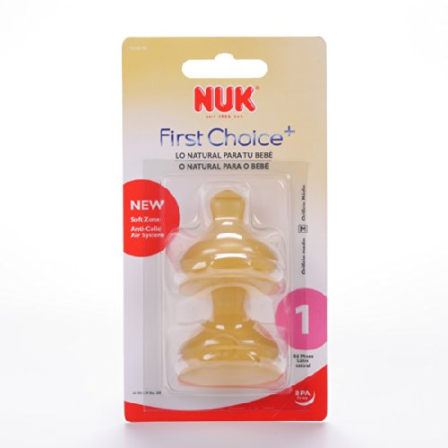 SAUGER Nuk First Choice Latex 1 m 0/6 2UN