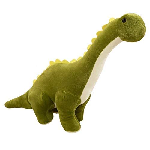JYDQM Juguete de Peluche - Verde de Cuello Largo del dragón de Peluche de Juguete muñeca 25cm Dinosaurio, 30cm (Size : 25cm)