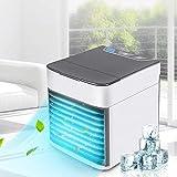 JINHH Mini Refrigerador De Aire Acondicionado, Refrigeración Y Aire Acondicionado Radiador De Baja Potencia Portátil