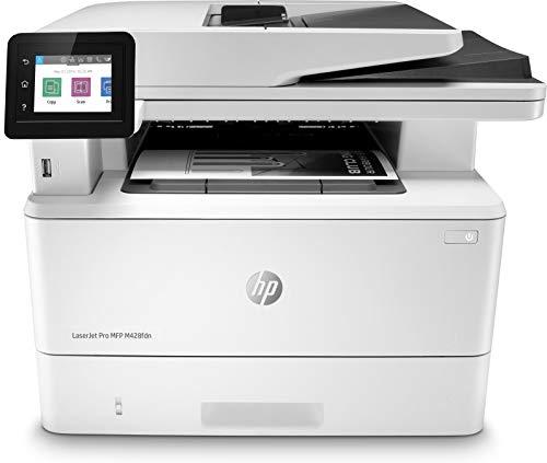 HP Laserjet Pro MFP M428fdn Laser 38 ppm 1200 x 1200 dpi A4 - Impresora multifunción (Laser, Impresión en Blanco y Negro, 1200 x 1200 dpi, 550 Hojas, A4, Blanco)