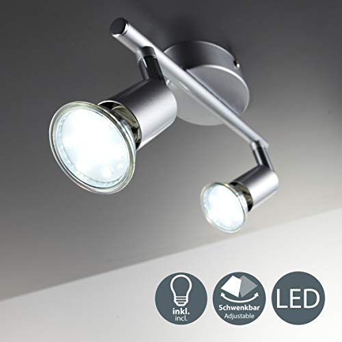 LED Plafondlamp Swivel Incl. 2 x 3W verlichting GU10 LED Spotlight