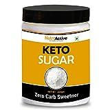 NutroActive Keto Sugar Zero Carb Sweetener 100% Sugar Free 250g
