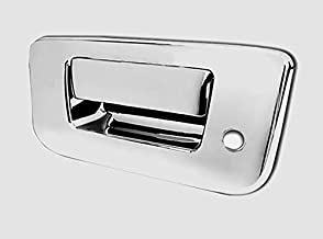 Tyger ABS Triple Chrome Plated Door Handle Cover Fits 10-13 Dodge Ram 2500//3500//HD//09-13 Ram 1500//05-10 Jeep Commander//Grand Cherokee 4 Doors Without Passenger Side Keyhole