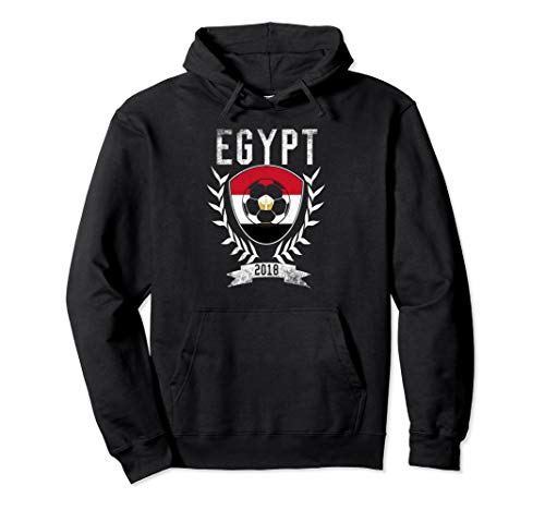 Egyptian Football 2018 Hoodie Egypt Soccer Jersey