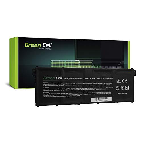 Green Cell Akku für Acer Aspire V 13 V3-372-505B V3-372-50LK V3-372-50W9 V3-372-54B4 V3-372-54T0 V3-372-55AM V3-372-56V8 V3-372-57CW V3-372-57XV Laptop (3000mAh 15.2V Schwarz)