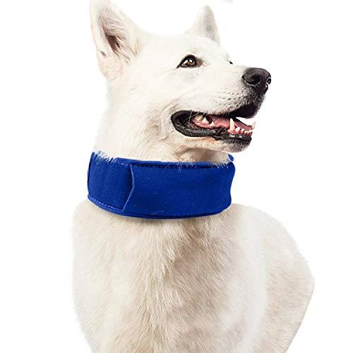 TOPSOSO 犬用クールバンダナ ネッククーラー 犬のクールマフラー ペット用冷感首輪 ソフト 冷却スカーフ 冷やすグッズ 冷え冷え首輪 ひんやり わんちゃんの熱中症対策