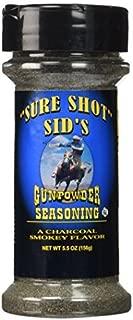 Sure Shot Sids Gunpowder BBQ Seasoning (5.5oz (156g)) by Sure Shot Sid's