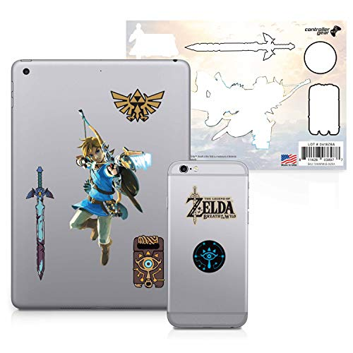 Controller Gear Officially Licensed The Legend of Zelda: Breath of the Wild - Character Tech Decal Pack - Bow and Arrow - Nintendo Wii; GameCube