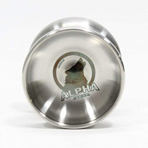 Zeekio Alpha Steel Yo Yo Organic Shaped Stainless Steel Undersized YoYo with D Sized Bearing product image