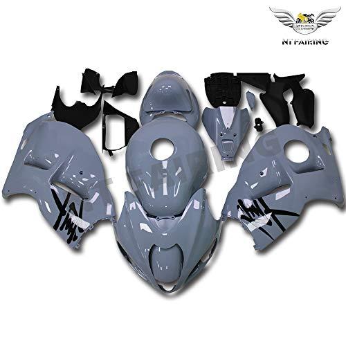 Fairing Complete Nardo Gray Fit for Suzuki 1997-2007 GSXR 1300 Hayabusa Gen1 Injection Mold ABS Plastics Aftermarket Bodywork Bodyframe Kit Set 1998 1999 2000 2001 2002 2003 2004 2005 2006