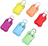 6 parti bambini bottiglie viaggio portachiavi vibrazione silicone 30ml bottiglia tappo distributore di sapone vuota doccia ricaricabile contenitore viaggi gel for shampoo profumo Mano Gel Lozione
