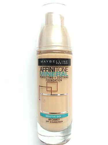 Maybelline Affinitone Mineral Foundation SPF18 30ml- 20 Cameo