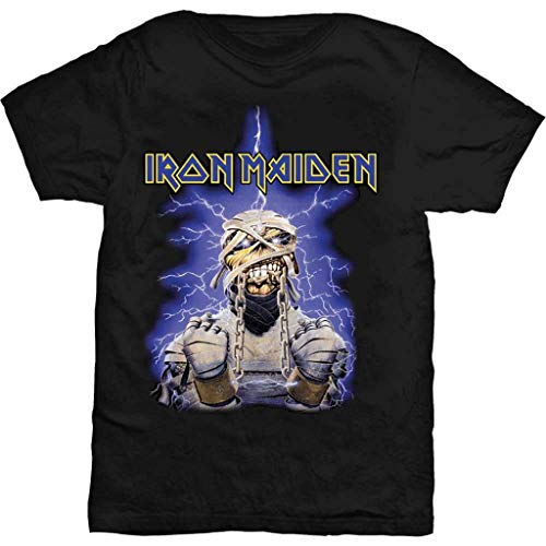 Iron Maiden 'Powerslave Mummy' T-shirt - New & !