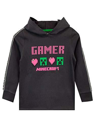 Minecraft Dziewczęca bluza z kapturem