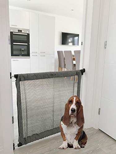 Bettacare Barrière extensible en tissu sécurisé pour animaux domestiques