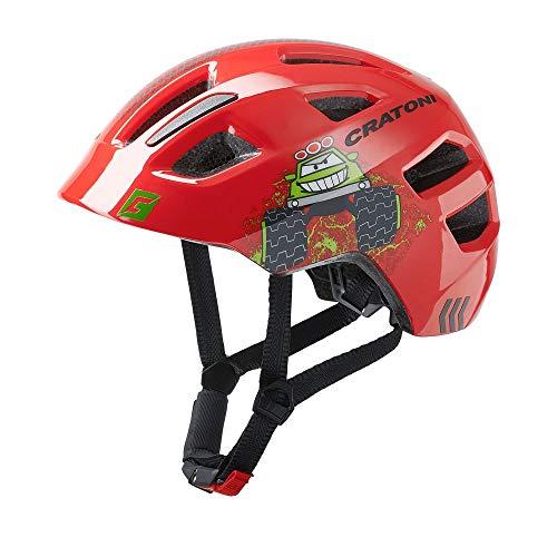 RennMaxe : Cratoni maxster - Casco de bicicleta (46-51 cm, incluye cinta...