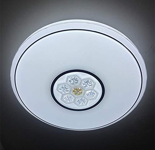 Plafón LED 72W Φ490mm Con Regulable y Cambiar la Temperatura de Color con Control Remoto Alta Luminosidad Lámpara de Techo (8920) ONSSI LED