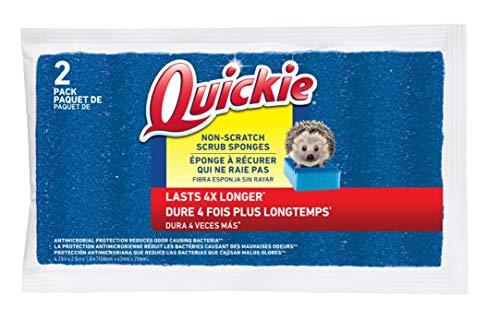 Lysol 59168 2 in 1 Dishwand Heavy Duty Scrubber Sponge Quickie