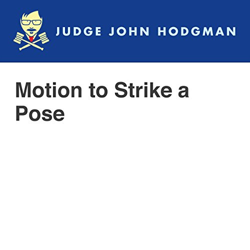 Motion to Strike a Pose audiobook cover art