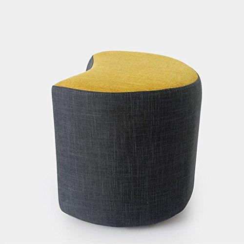 ZXQZ Repose-Pieds en Bois Massif créatif/Salon Moderne canapé Tabouret/Changement de Porte en Tissu Tabouret Chaussures (8 Couleurs en Option) Repose-Pieds de Stockage (Couleur : F)