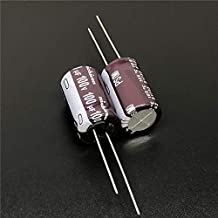 5PCS 100uF 100V Serie PS 12.5x20mm Baja impedancia 100V100uF Condensador electrolítico de aluminio