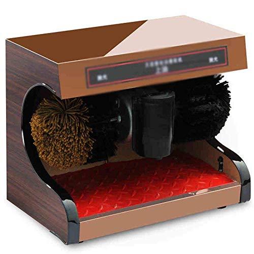 Machine de Nettoyage de Chaussures Appareils ménagers Chaussure Machine à Chaussures Machine à Chaussures à Chaussures avec Brosse à Chaussures, Induction, adaptée à Un Usage Domestique ou Public