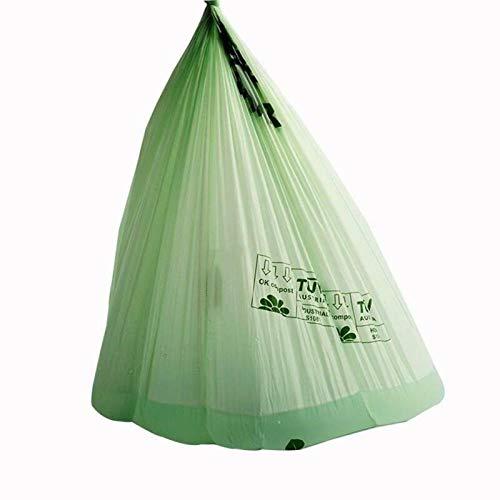 JXX kompostbeutel 50 kompostierbare Beutel-6L