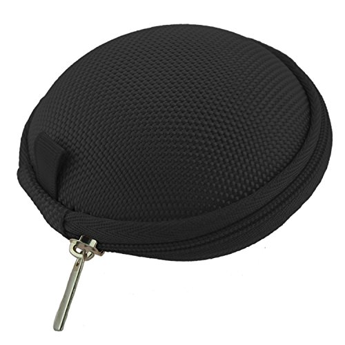 CUHAWUDBA Bolsa Caja para Gimnasio Deportivo iPod Shuffle iPod Nano 6 Apple Watch Auriculares Negro