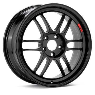 Enkei RPF1 18x10.5 5x114.3 15mm Matte Black Wheels - Set of 4