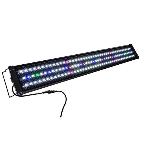 LITOSM Luz Acuario,Led Acuario 30 cm-40 cm LED Aquarium Light Multi-Color Full Spectrum Freshwater Tank Tank Plant Lamp Lámpara Marina Iluminación (Color : 40cm)