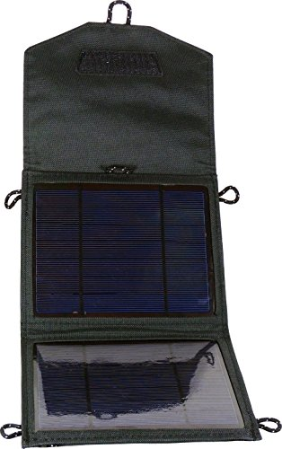 POWER plus Tiger 5W Solar oplader zonnecellen 2 x 2,5W / 12V & 5V