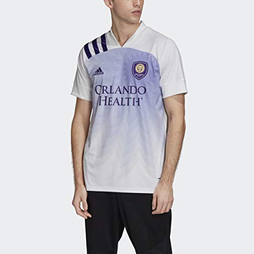 adidas Orlando City Away Jersey Men's, White, Size XL