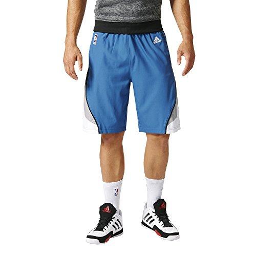 adidas A40854 Pantaloncini Minnesota Timberwolves da Basket Uomo, Nero (NBA Minnesota Timberwolves 1-316), 2XS