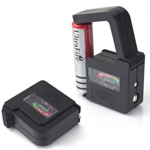 Grocery House AA/AAA/C/D/9V/1.5V Button Cell Battery Volt Tester Checker