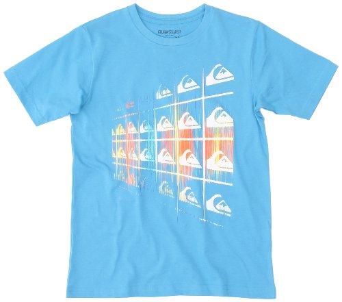 Quiksilver - Camiseta para niño, tamaño 12 años, Color Water Azul