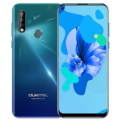OUKITEL C17 Pro (2020) Offerte Cellulari 6,35 pollici schermo 19,5: 9, 4 GB + 64 GB Helio P23 Octa Core Android 9.0 Smartphone, Batteria 3900mAh, 4G LTE Dual SIM, Fotocamera Posteriore Tripla da 13 MP