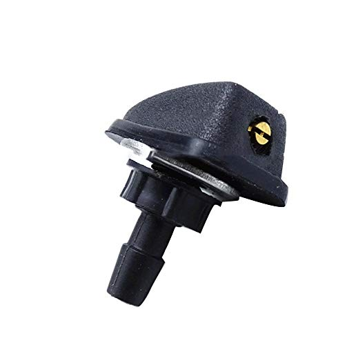 (cantidad de producto x 10) Car Universal Windshield Washer aspersor Head Wiper Fan Shaped Spout Cover Water Outlet Adjustment