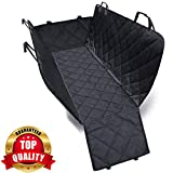 PetVogue Waterproof Seat Cover Car-Scratch Proof and Backing and Hammock, Quilted, Padded, Durable