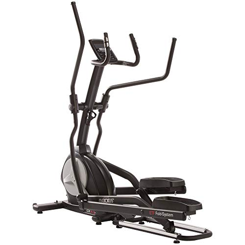 MAXXUS CX 4.3f Foldable Elliptical Cross Trainer | Gym Quality Elliptical Trainer for Home Use | ETF Folding System for Optimal Space Saving | Bluetooth Compatible for App Control