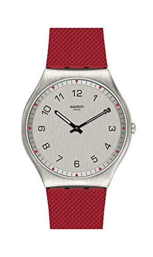 Swatch Reloj Analógico para Hombre de Cuarzo Suizo con Correa en Goma SS07S105