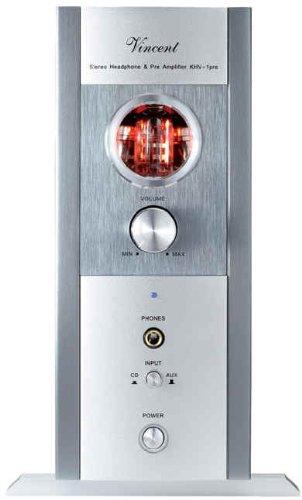 Vincent KHV-1 powerLine Hybrid Kopfhörer-Verstärker, silber
