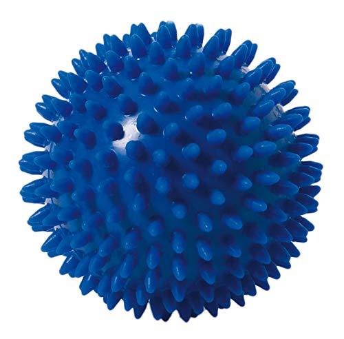 TOGU Noppenball Massageball Igelball, 10 cm blau