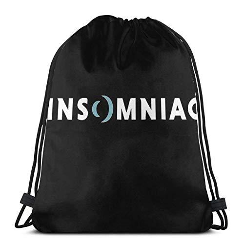 AOOEDM Bestseller Insomniac Games Merchandise1 Sport Sackpack Kordelzug Rucksack Gym Bag Sack